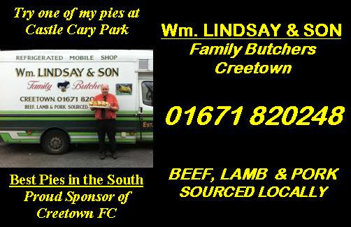 Proud to sponsor Creetown F.C